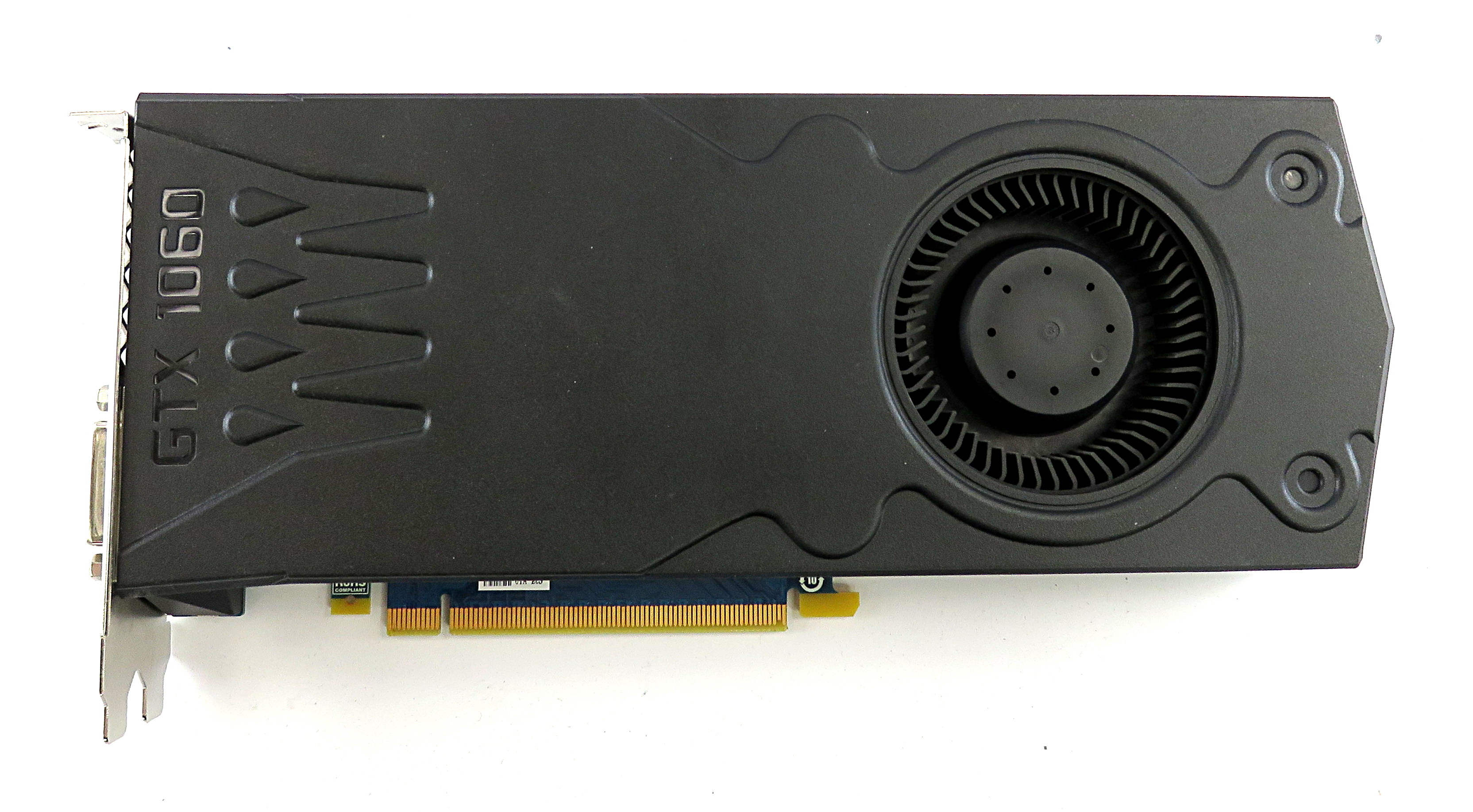 Dell 2FNM3 nVidia GTX 1060 6GB GDDR5 Graphics Card 3xDP/HDMI/DVI