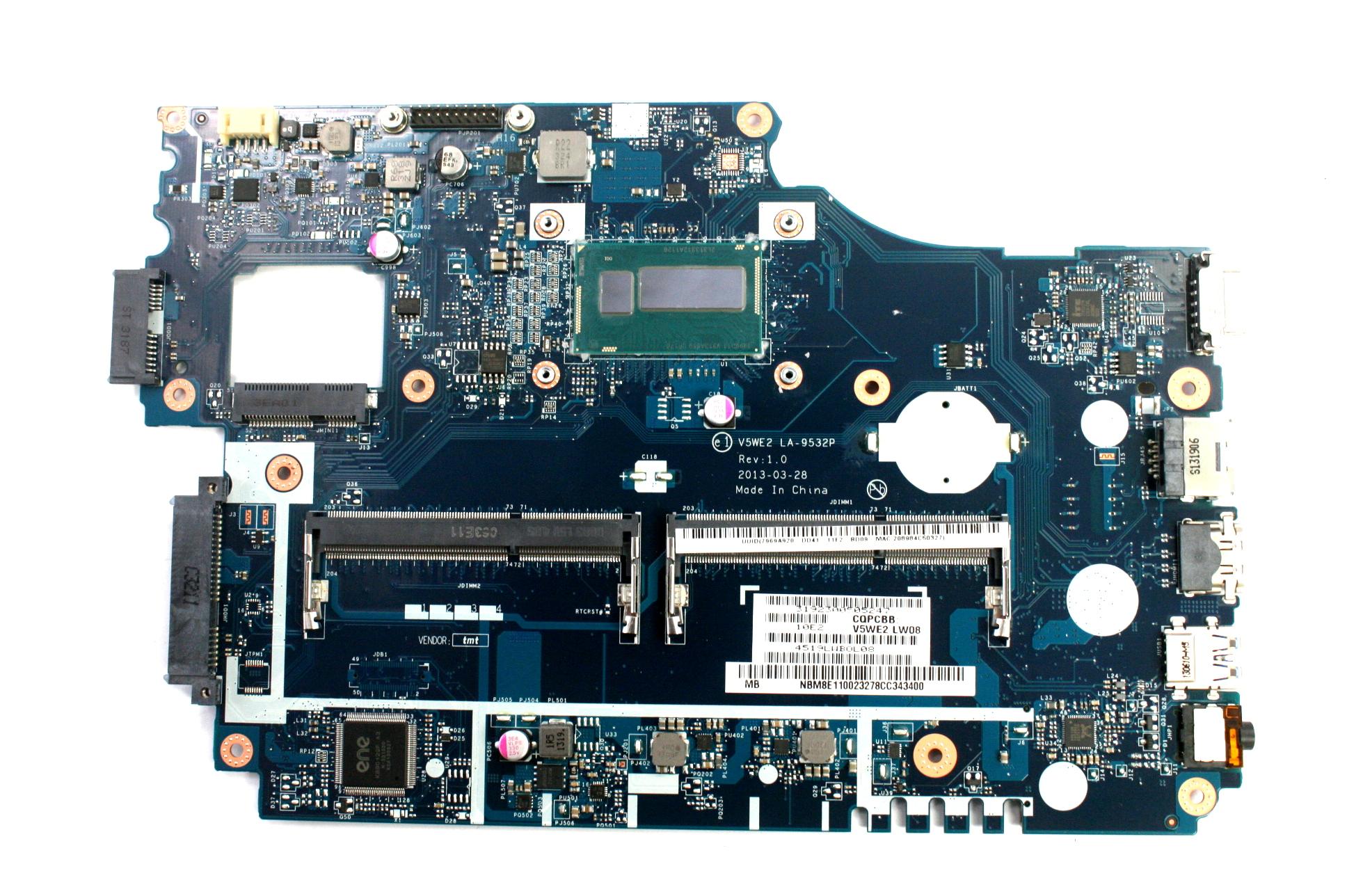 Acer NB.M8E11.002 Laptop Motherboard LA-9532P /w i5-4200U CPU /f Aspire E1-572