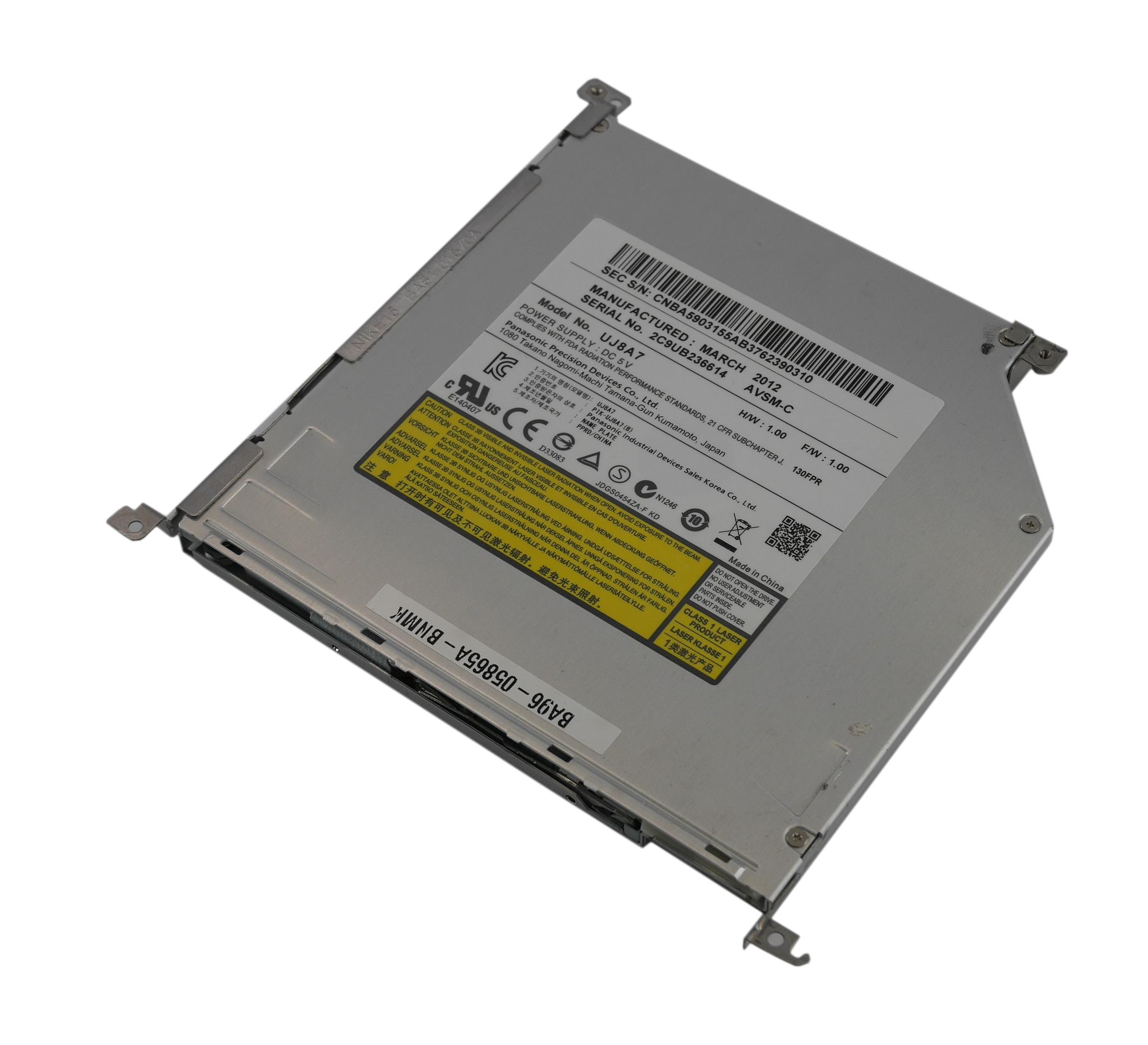 Samsung BA96-05865A-BNMK NP700Z5C Slot-Load DVD-RW SATA Drive with Bracket