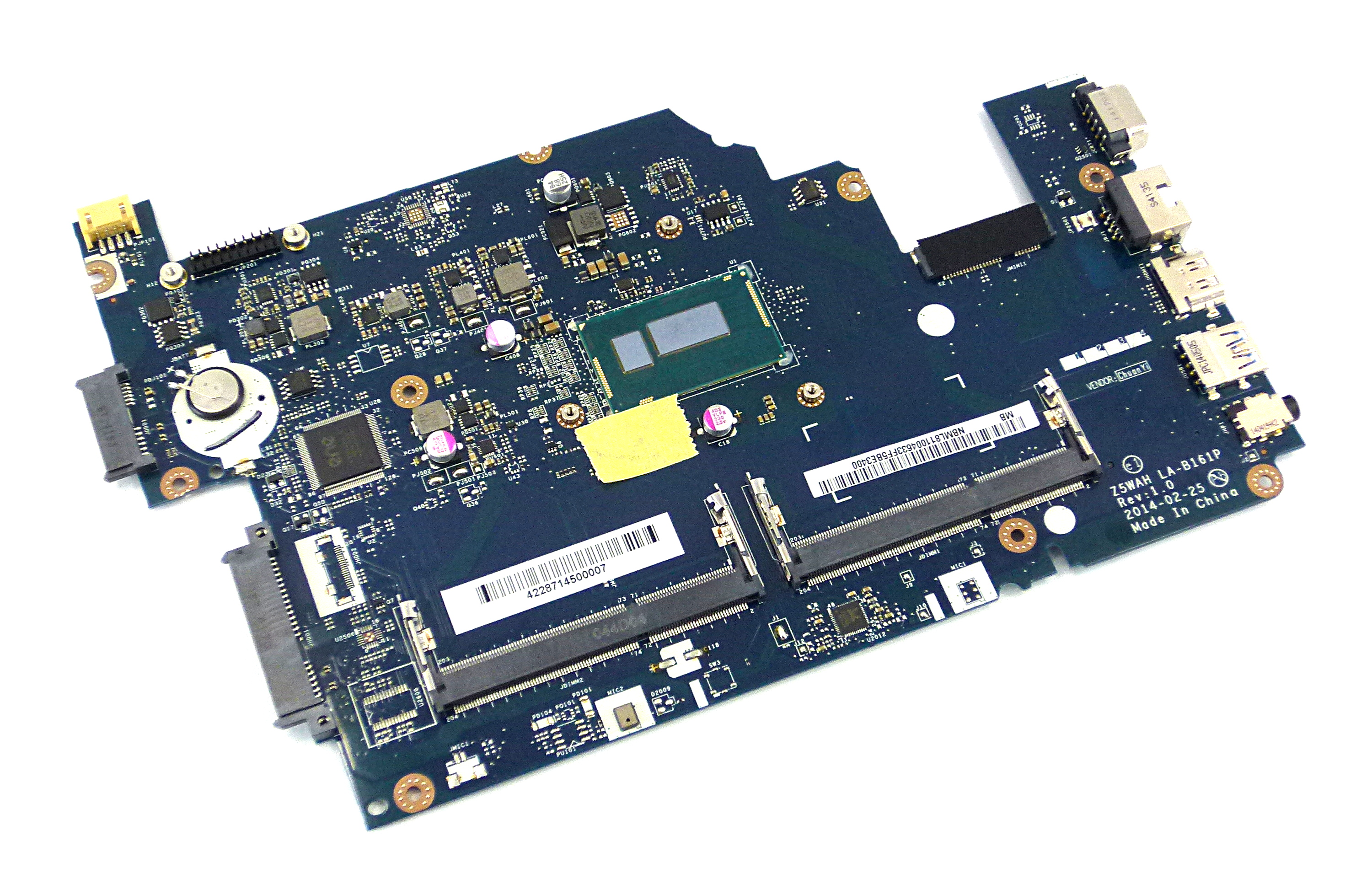 Acer NB.ML811.004 Aspire E1-571 Notebook Motherboard with Intel SR1EF CPU