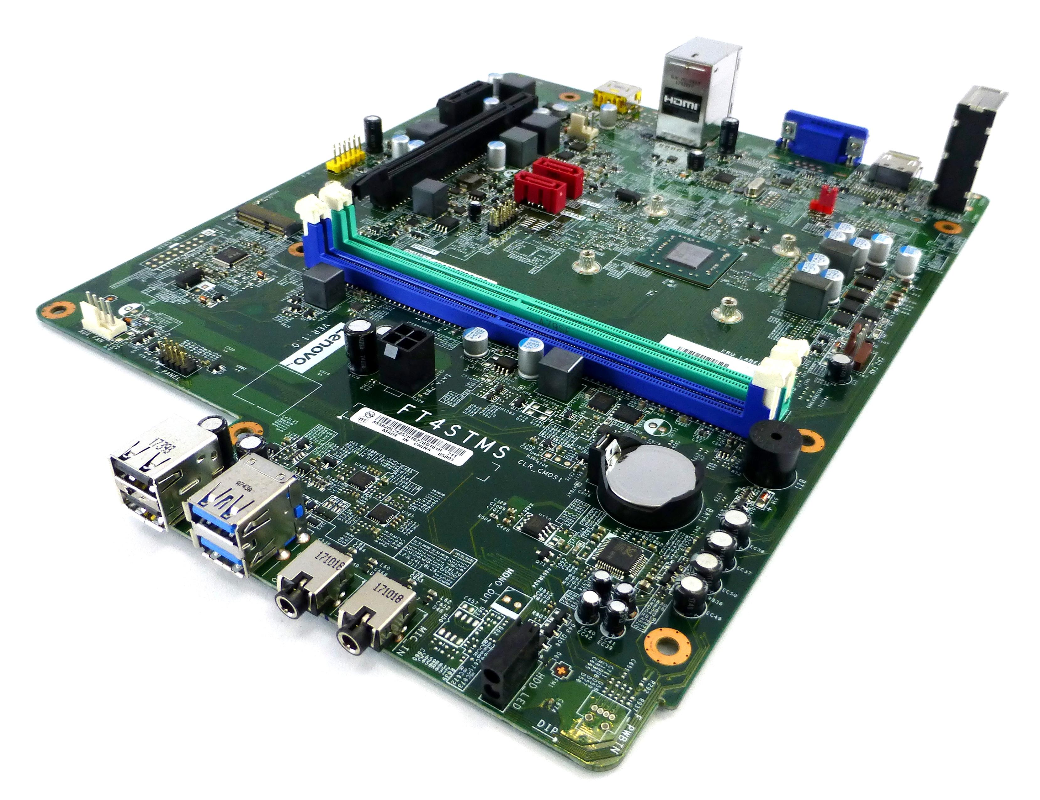 00XK158 Lenovo ideacentre FT4STMS Motherboard SB20L28257S w/ AMD A9-9430 APU