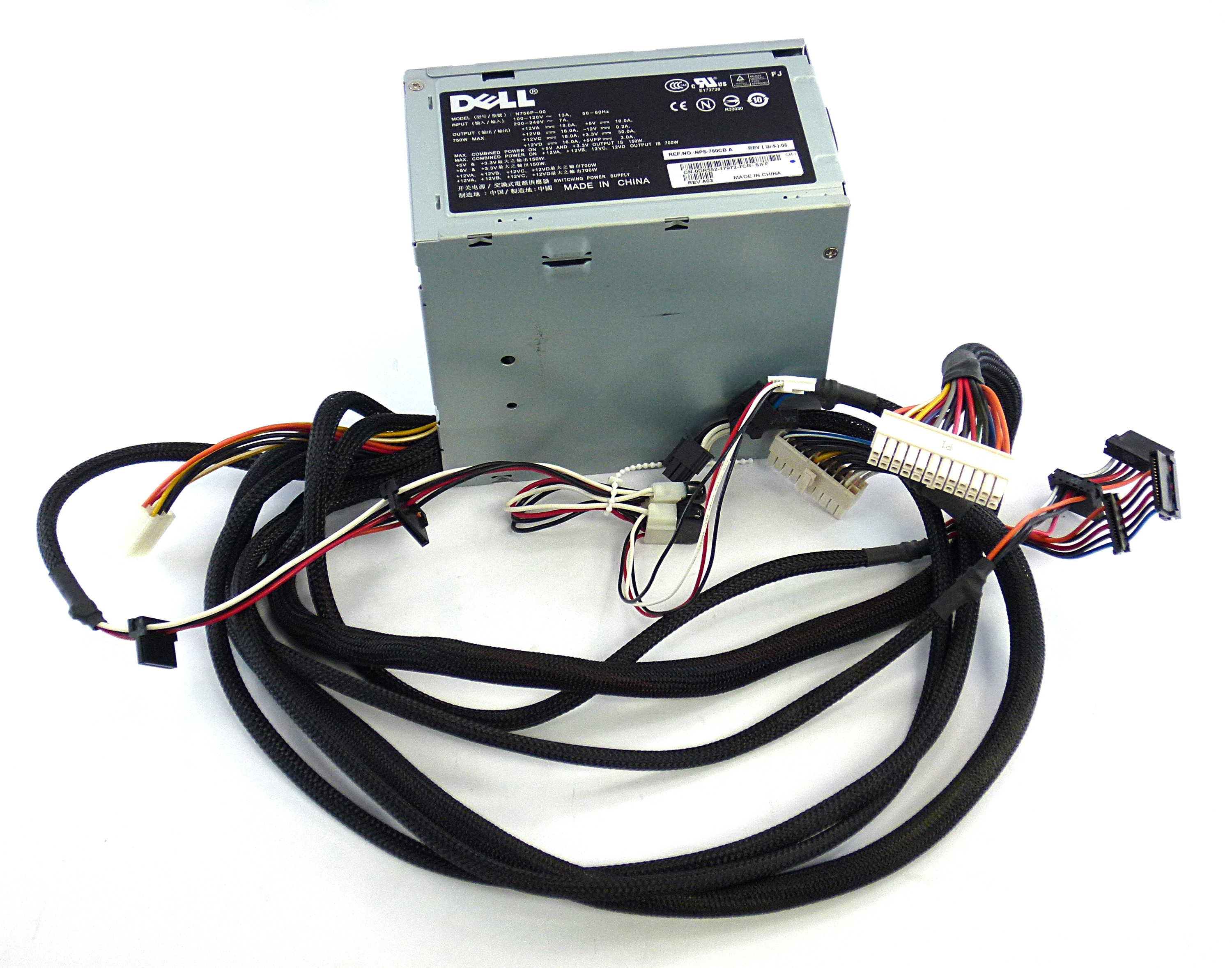 Dell DR552 XPS 700 / 720 750W Power Supply N750P-00
