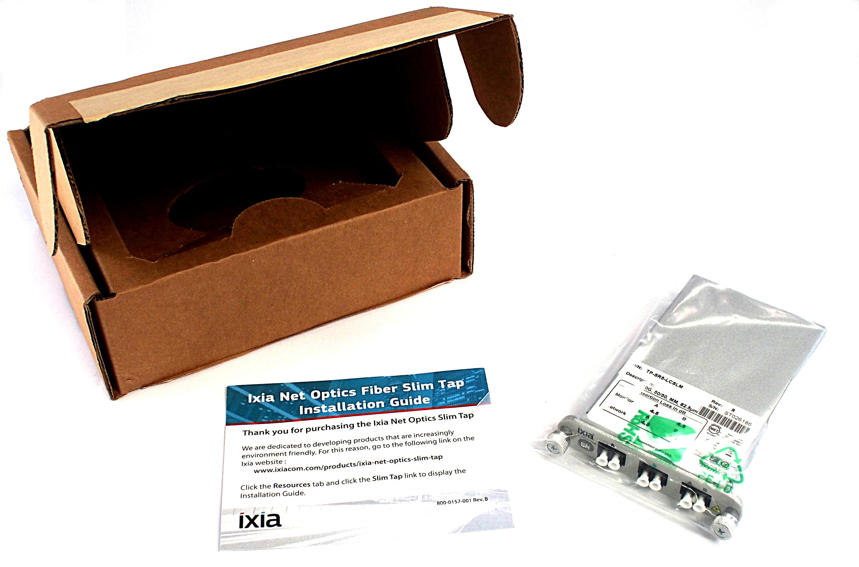 Ixia Net Optics Gigabit Fiber LC Slim Tap - TP-SR5-LCSLM Rev:R ST026186
