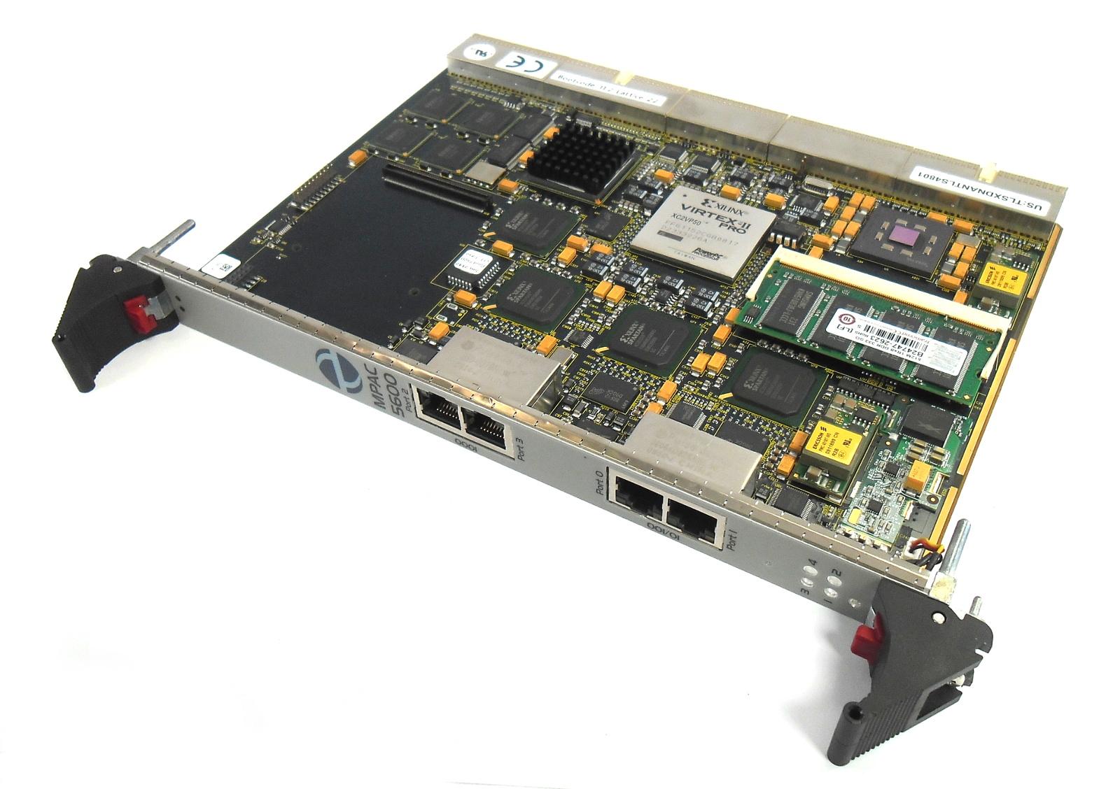 Telesoft 1000LF246 8.0 MPAC 5600 STM-1 cPCI SDH Access Blade