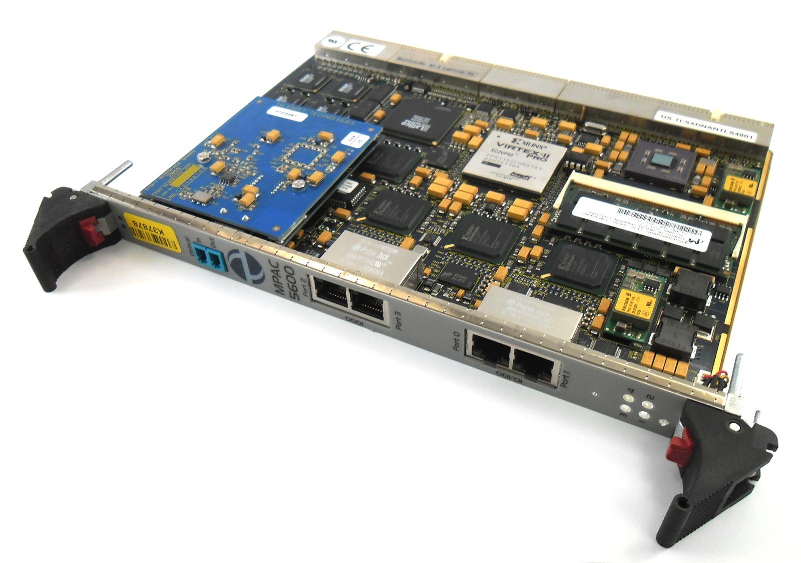 Telesoft 1000LF246 5.0 MPAC 5600 STM-1 cPCI SDH Access Blade w/ optical interfac