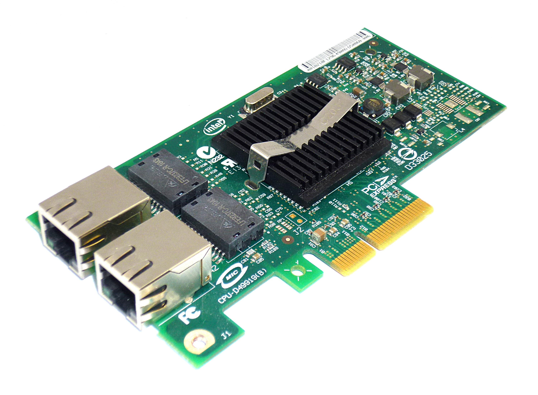 Intel D50868-006 Dual Port PCIe x4 Gigabit Ethernet Card - EXPI9402PTBLK