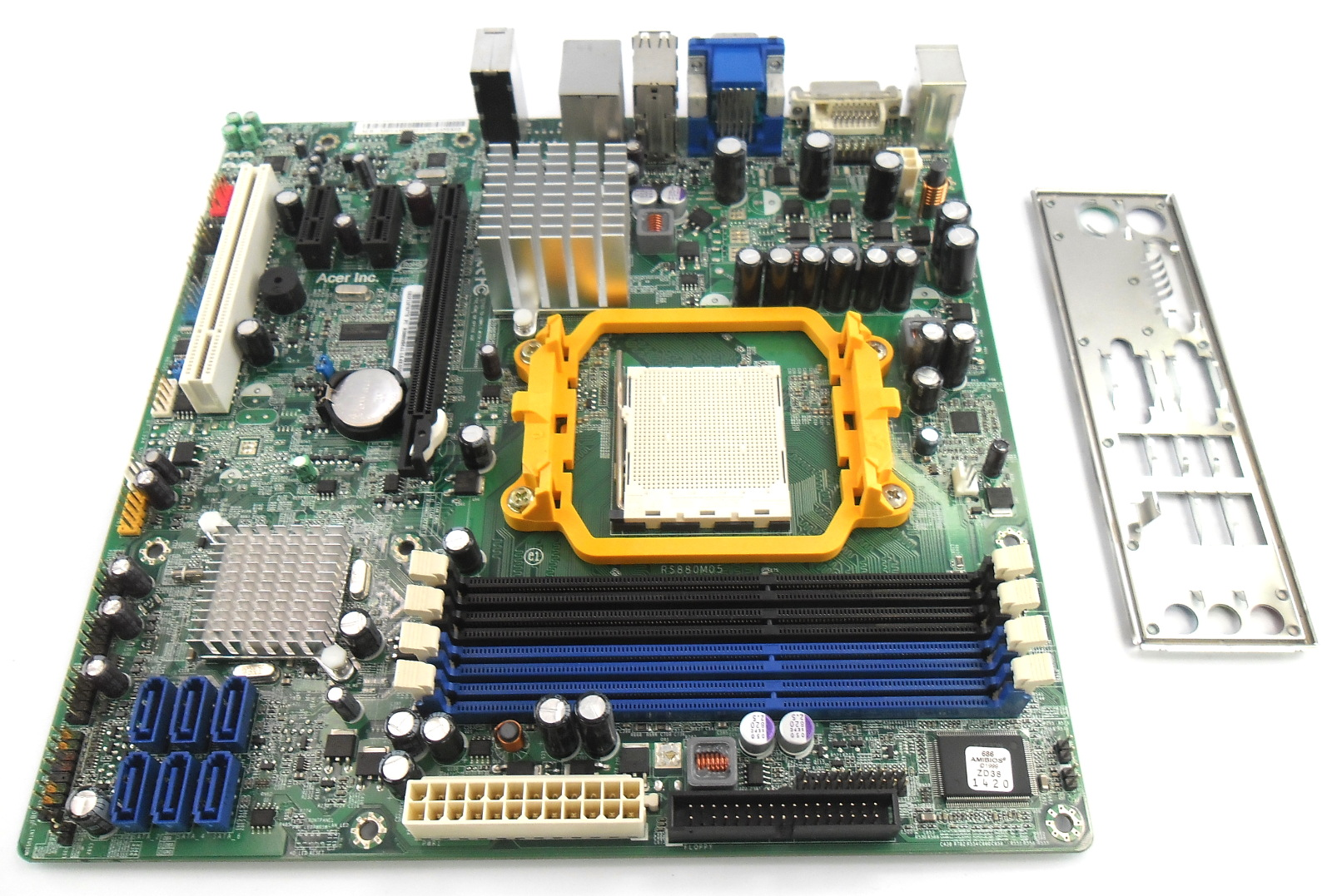 MB.VAY09.002 Acer Veriton M430G Socket AM3 AMD Motherboard