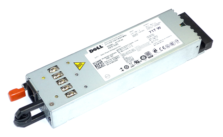 Dell RCXD0 PowerEdge R610 717W Power Supply A717P-00 PSU