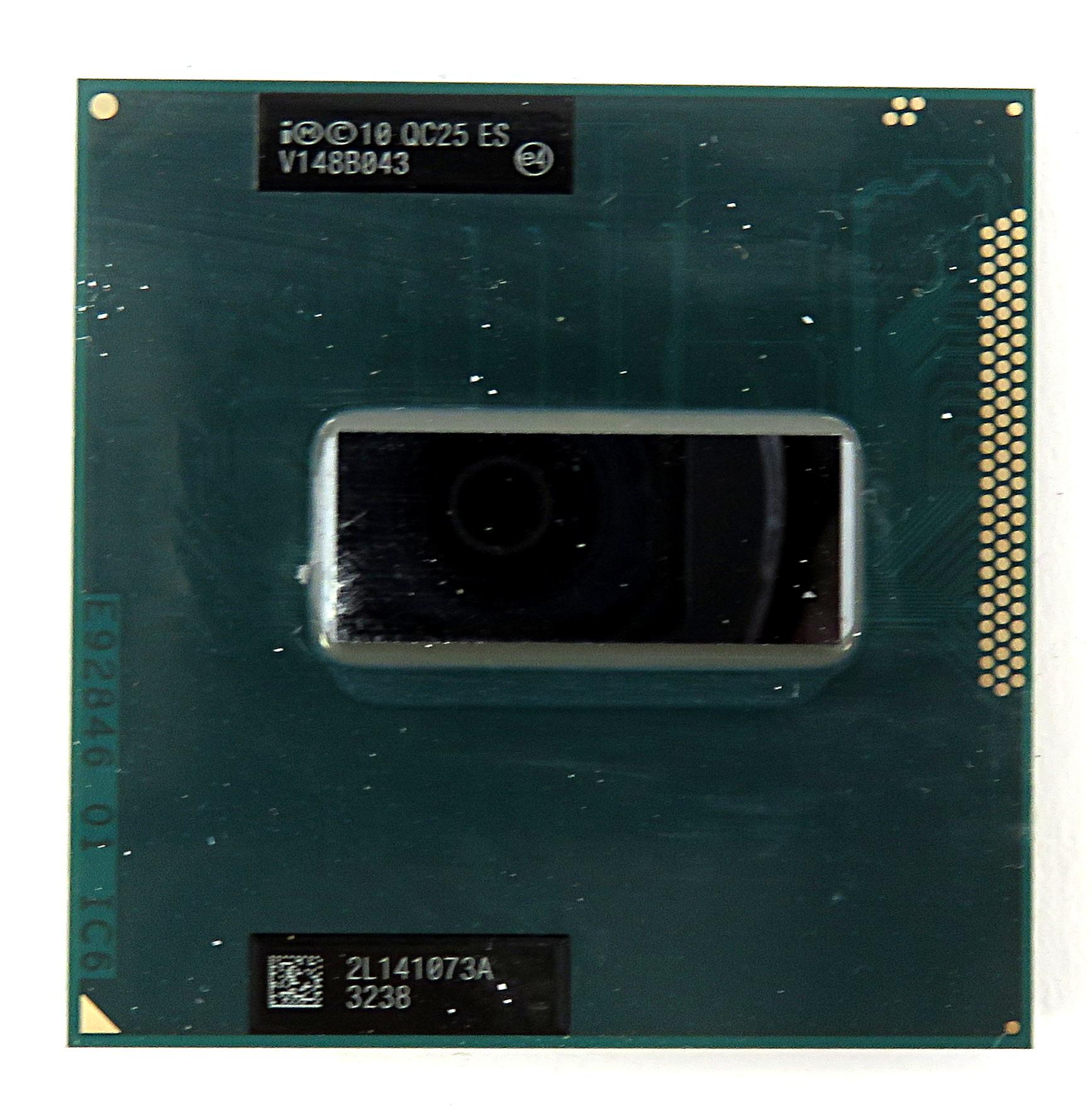 Intel Engineering/Qualification Sample CPU QC25 Socket rPGA988B i7-3720QM