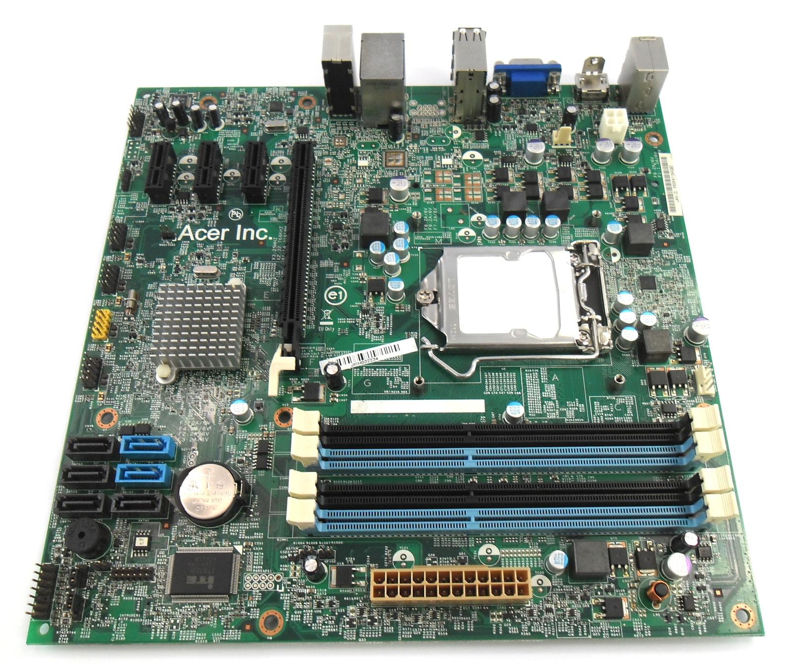 MB.GBN01.002 Acer DX4850 Desktop PC Motherboard Socket 115X LM 48.3EG01.011