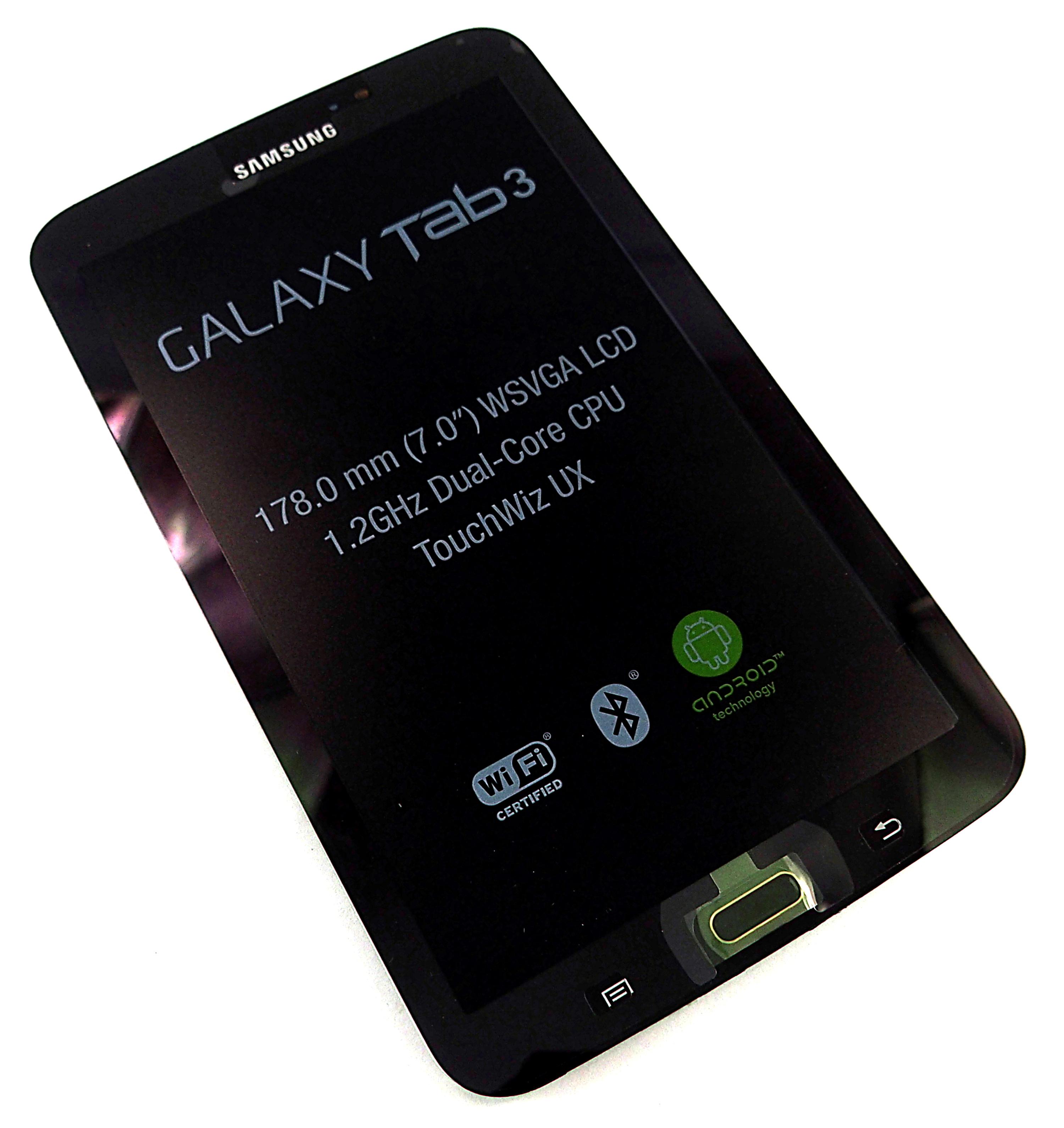 Samsung Galaxy Tab 3 Screen Digitizer Assembly Gold Brown SM-T210 - GH97-14754B