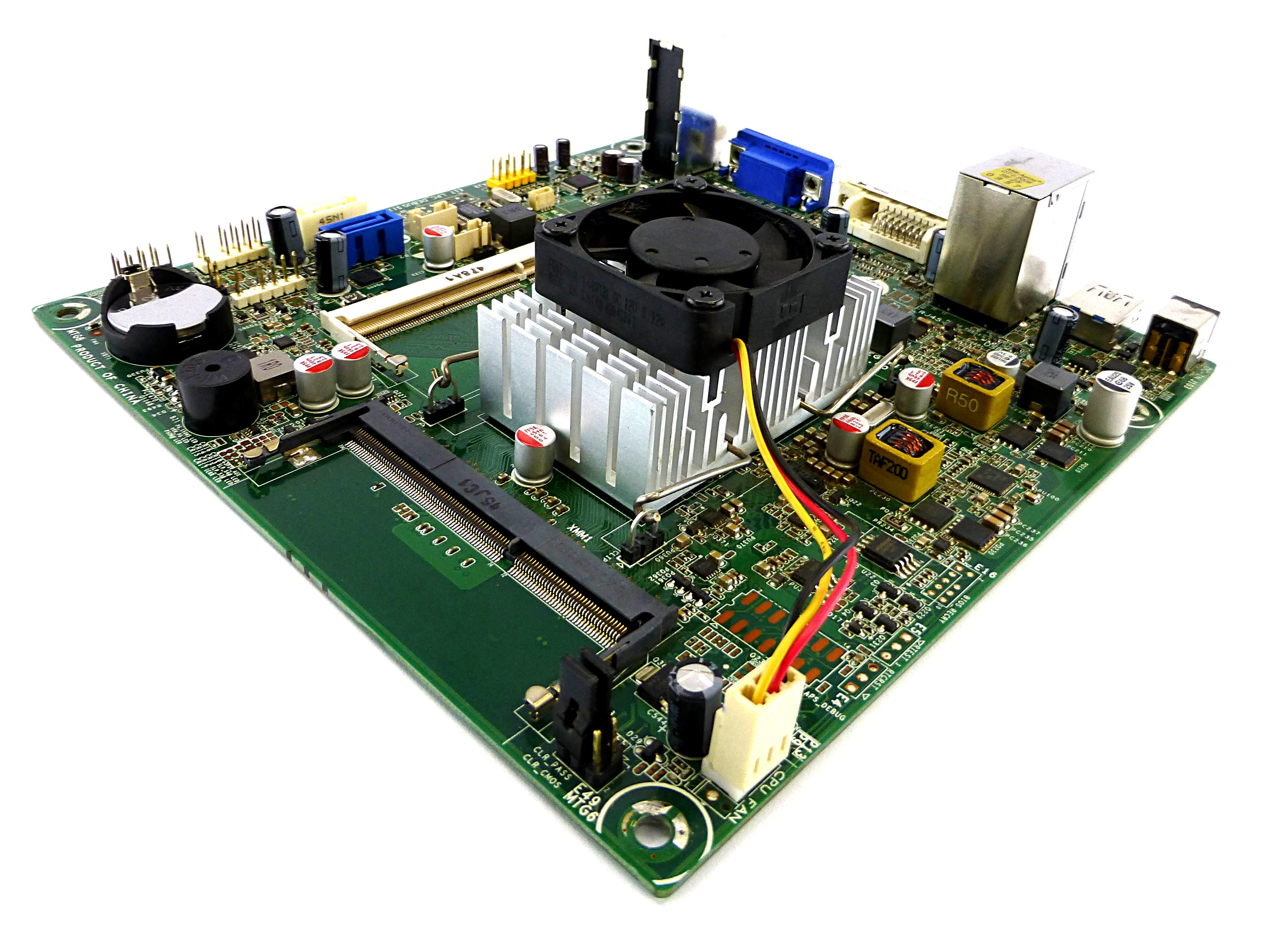 762024-001 HP D530 Pentium J2900 2.41GHz DDR3 NUTMEG Mini-ITX Motherboard Rev:1