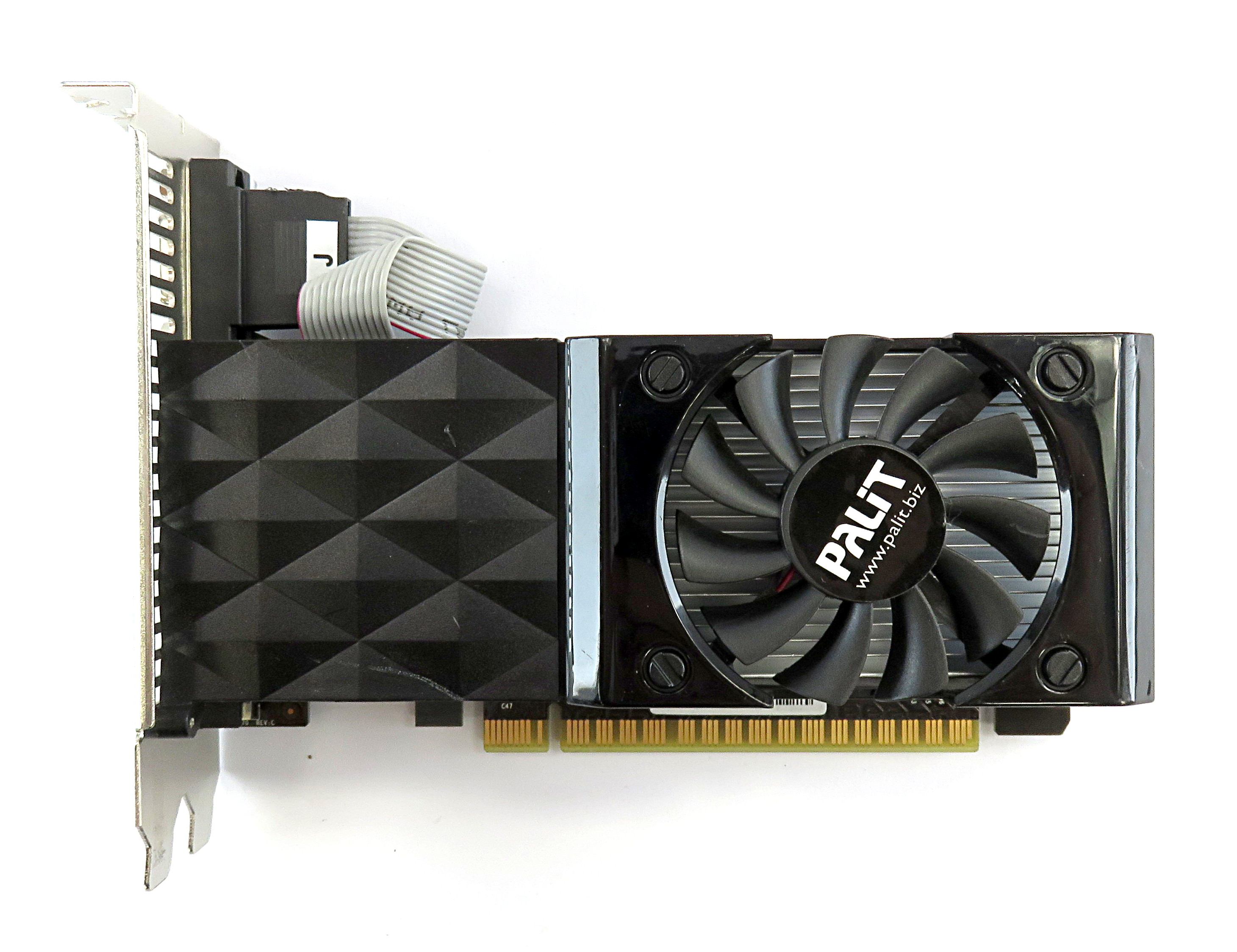 Palit nVidia GT640 1GB DDR3 PCIe Graphics Card NEAT6400HD01-1070F VGA/DVI/HDMI