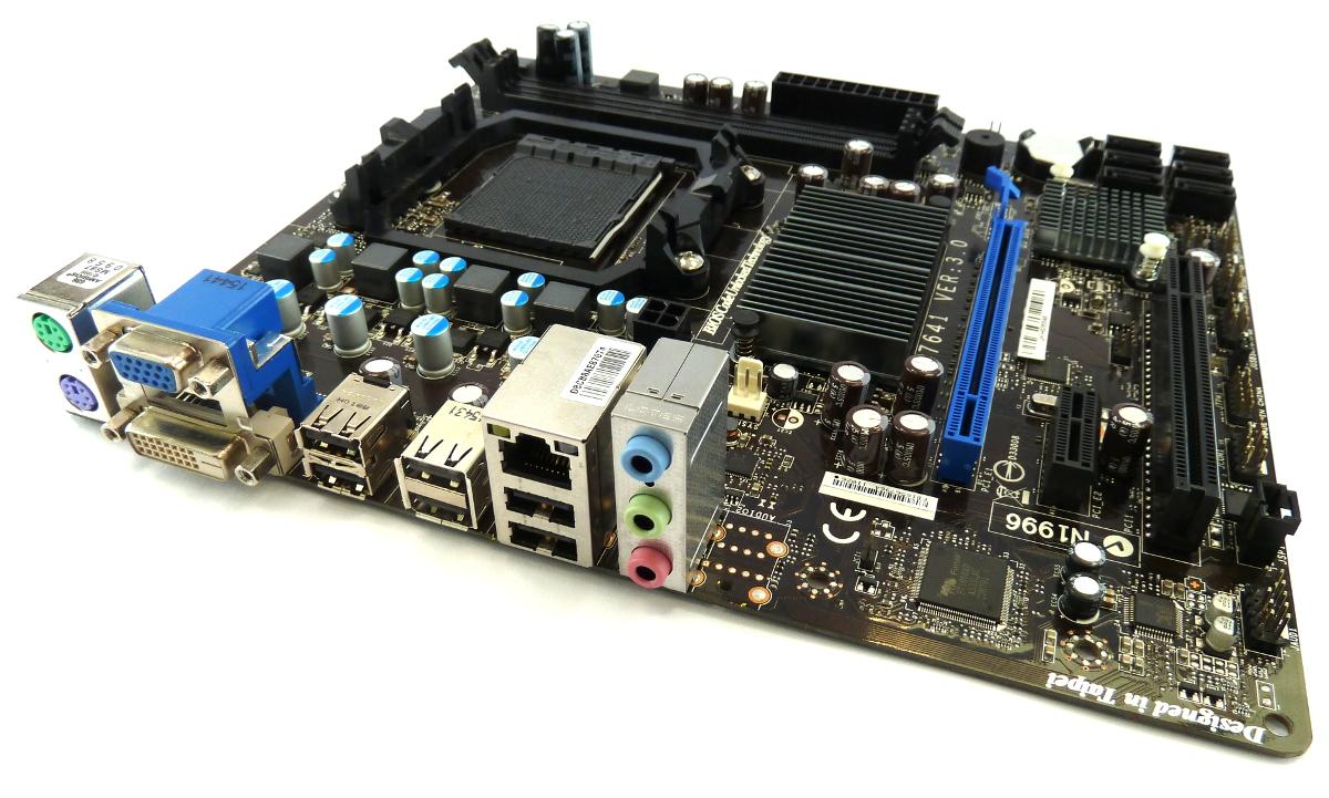 MSI 760GM-P23 Motherboard MS-7641 /w AMD Socket AM3+