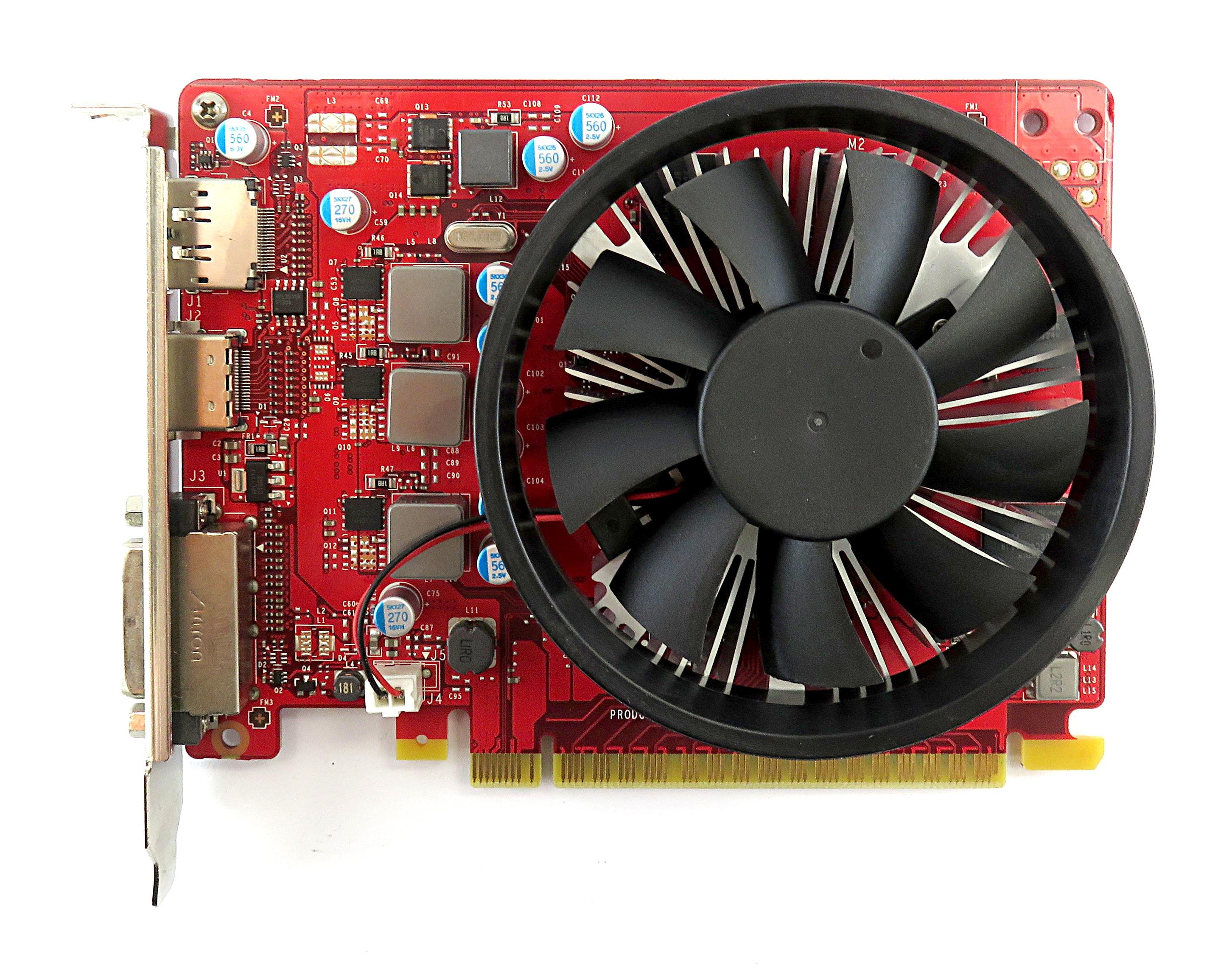 HP 918162-001 nVidia GTX 1050 2GB GDDR5 PCIe Graphics Card  DVI/DP/HDMI