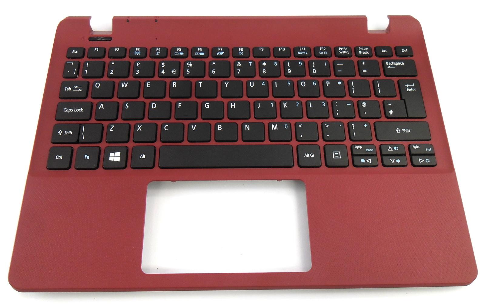 NK.I1117.04N Acer Aspire V3-331 Palmrest w/ UK Keyboard Assembly Red