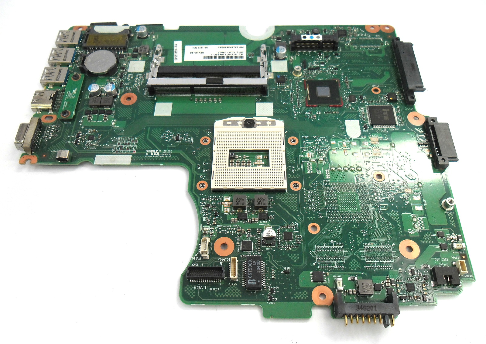 Fujitsu 1310A2595201 LifeBook A544 Socket rPGA947 Laptop Motherboard