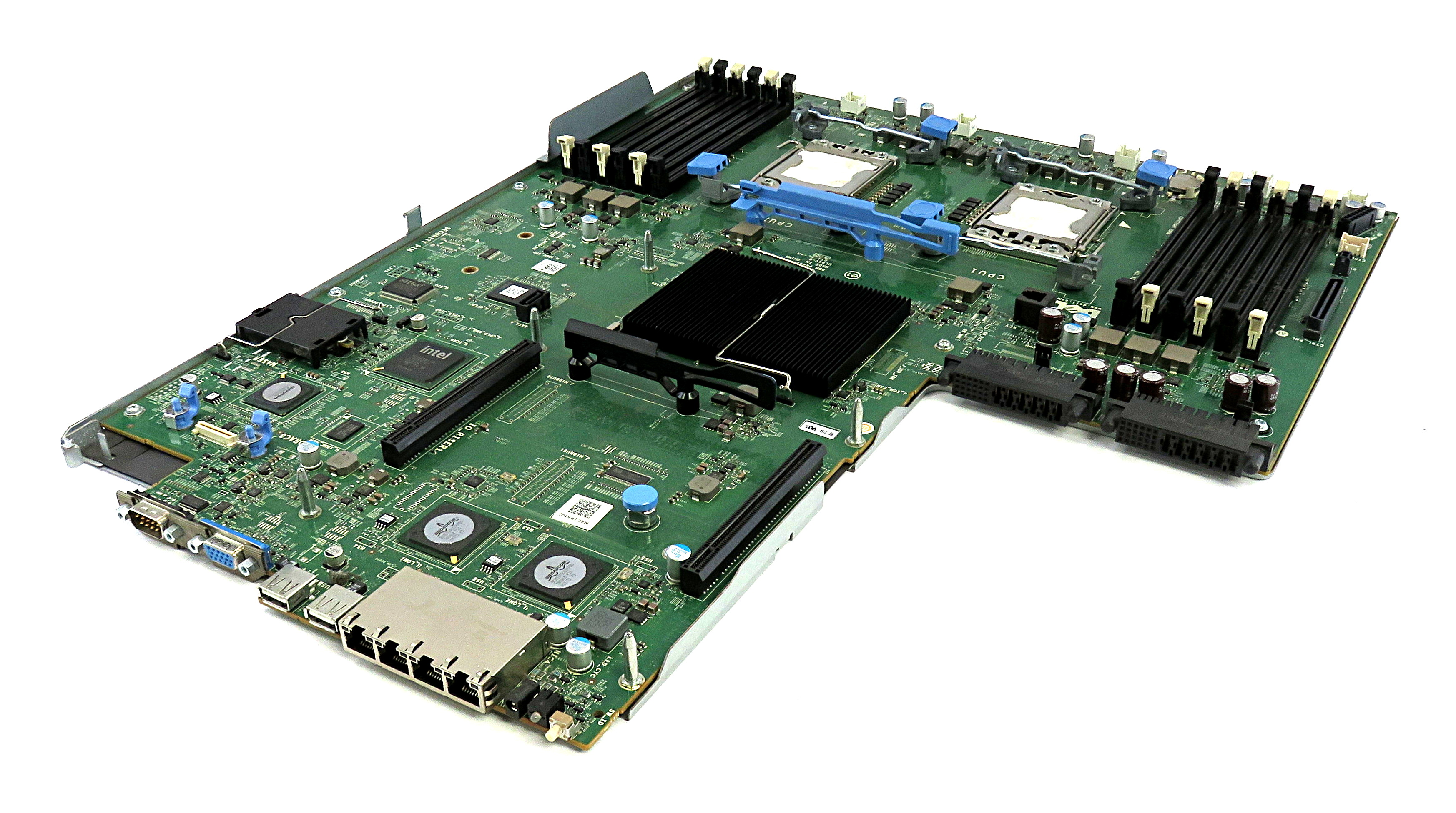 Dell K399H Tray-Mounted Dual Intel Socket LGA1366 Mainboard f/ PowerEdge R610