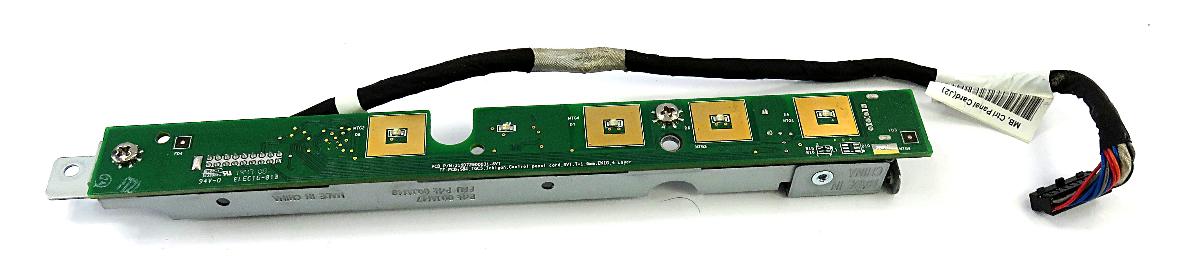 Lenovo 00JA149 Control Panel Card f/ Toshiba TCxWave 6140-E3R EPOS Terminal