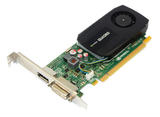PNY VCQK600ATX-T nVidia Quadro K600 PCI-e 1GB DDR3 DVI-I/DP Port Graphics Card