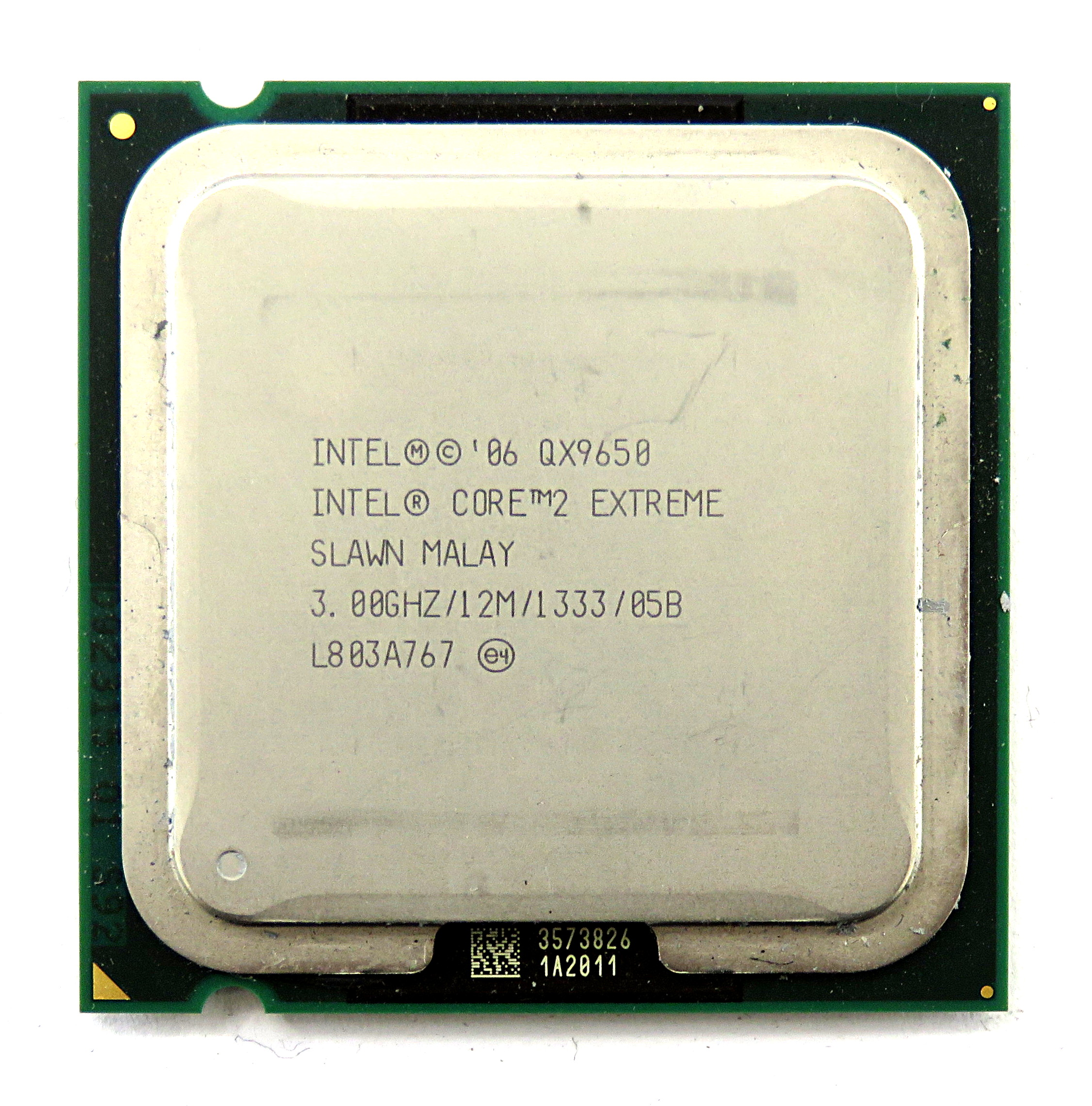 Intel Core 2 Extreme QX9650 SLAWN Quad-Core 3.0GHz 12MB ...