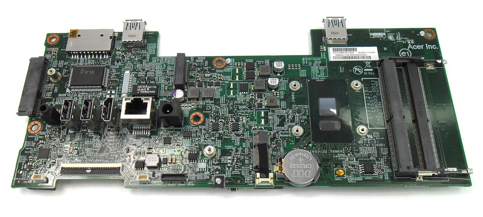 DB.BAE11.001 Acer Aspire C22-860 AIO PC Motherboard /w i3-7130U CPU Eiffel215i