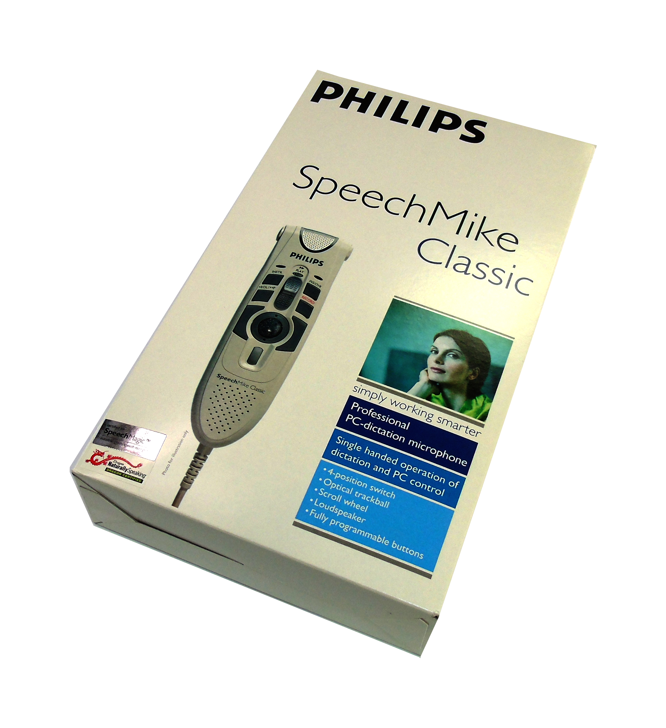 *New* Philips LFH5260/00 V2.3 SpeechMike Classic 5260 PC-dictation Microphone