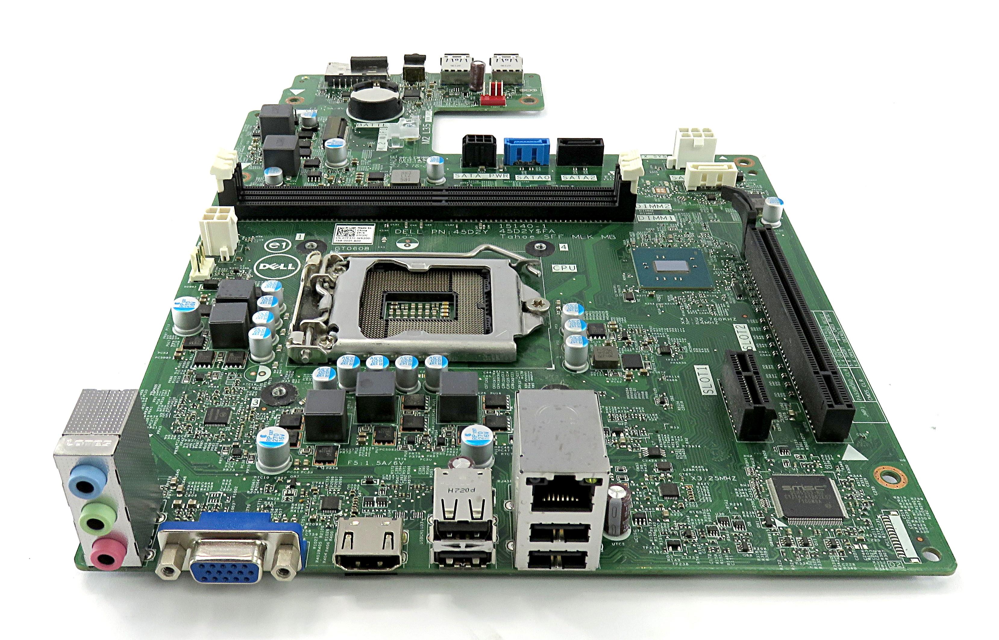 Dell 7F37C Socket 1151 45D2Y Tahoe SFF MLK Motherboard f/ Inspiron 3268