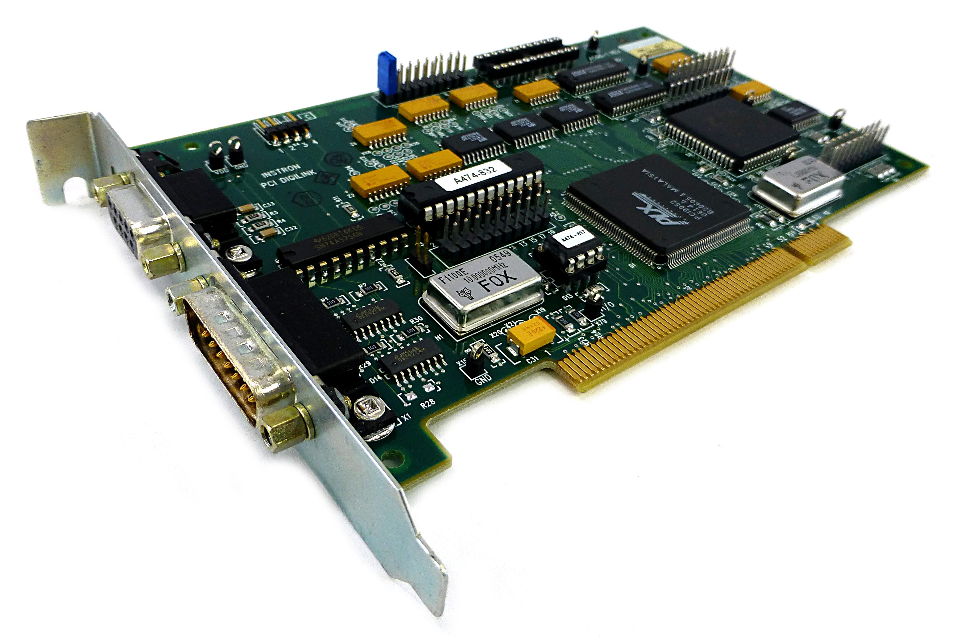 Instron A596-1 Rev:F PCI Digilink Card Tension Tester Board VS63930202