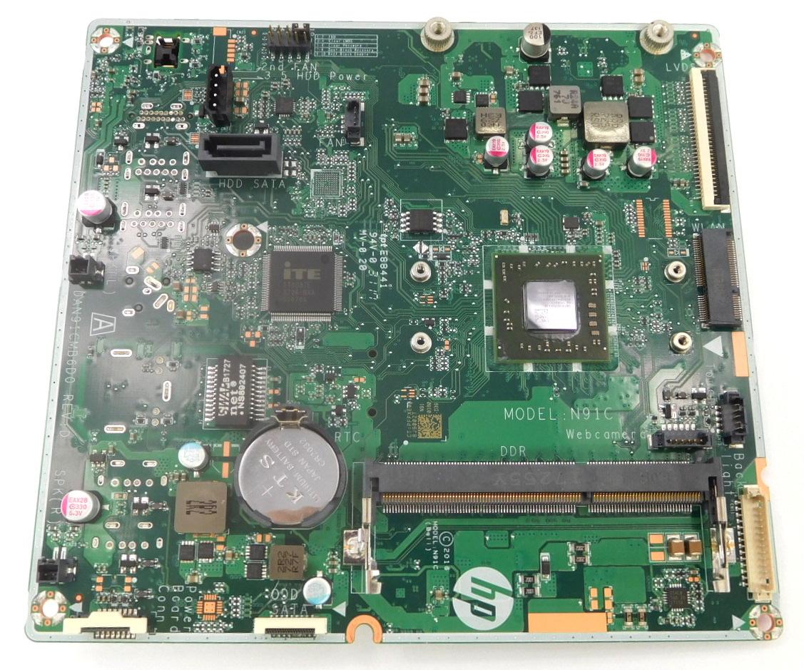 HP N91C (Bali) Motherboard w/ AMD A8-7410 APU f/ HP AiO PC DAN91CMB6D0