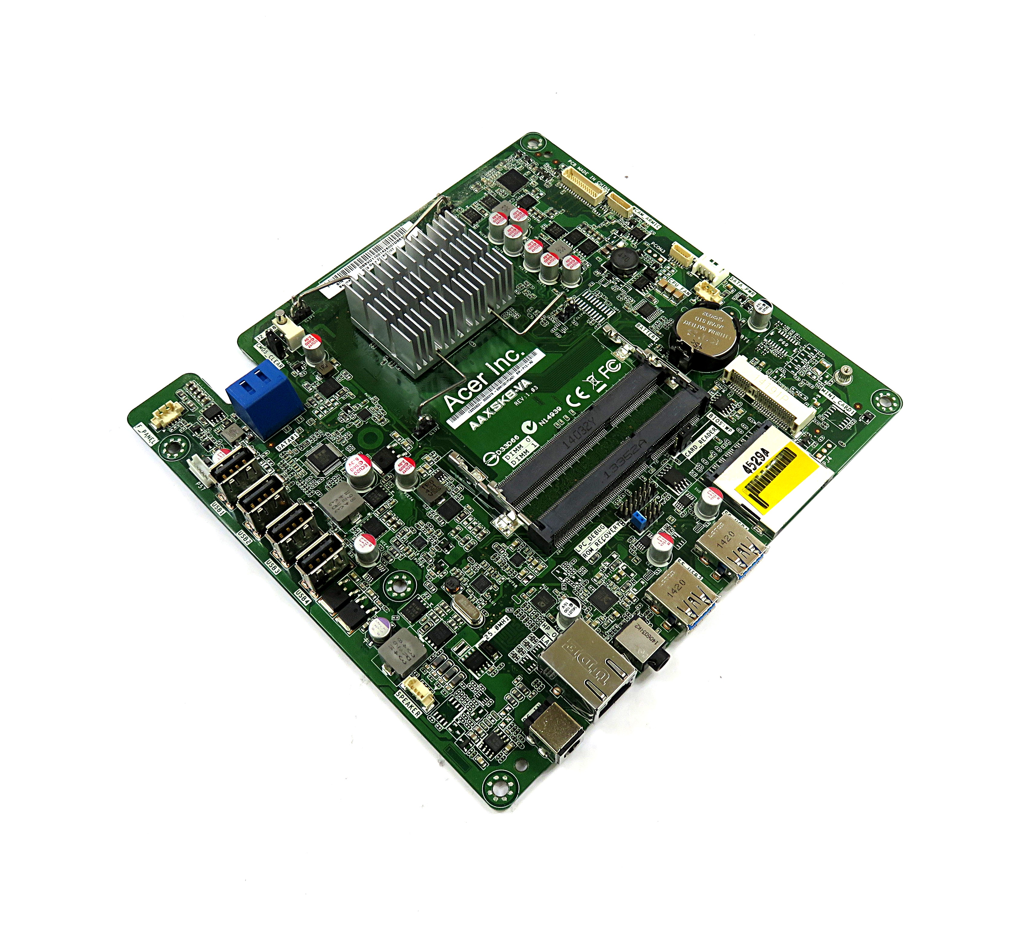 Packard Bell DB.SVU11.001 Motherboard AAXSKB-VA Rev:1.03  w/ AMD A4-6210 APU