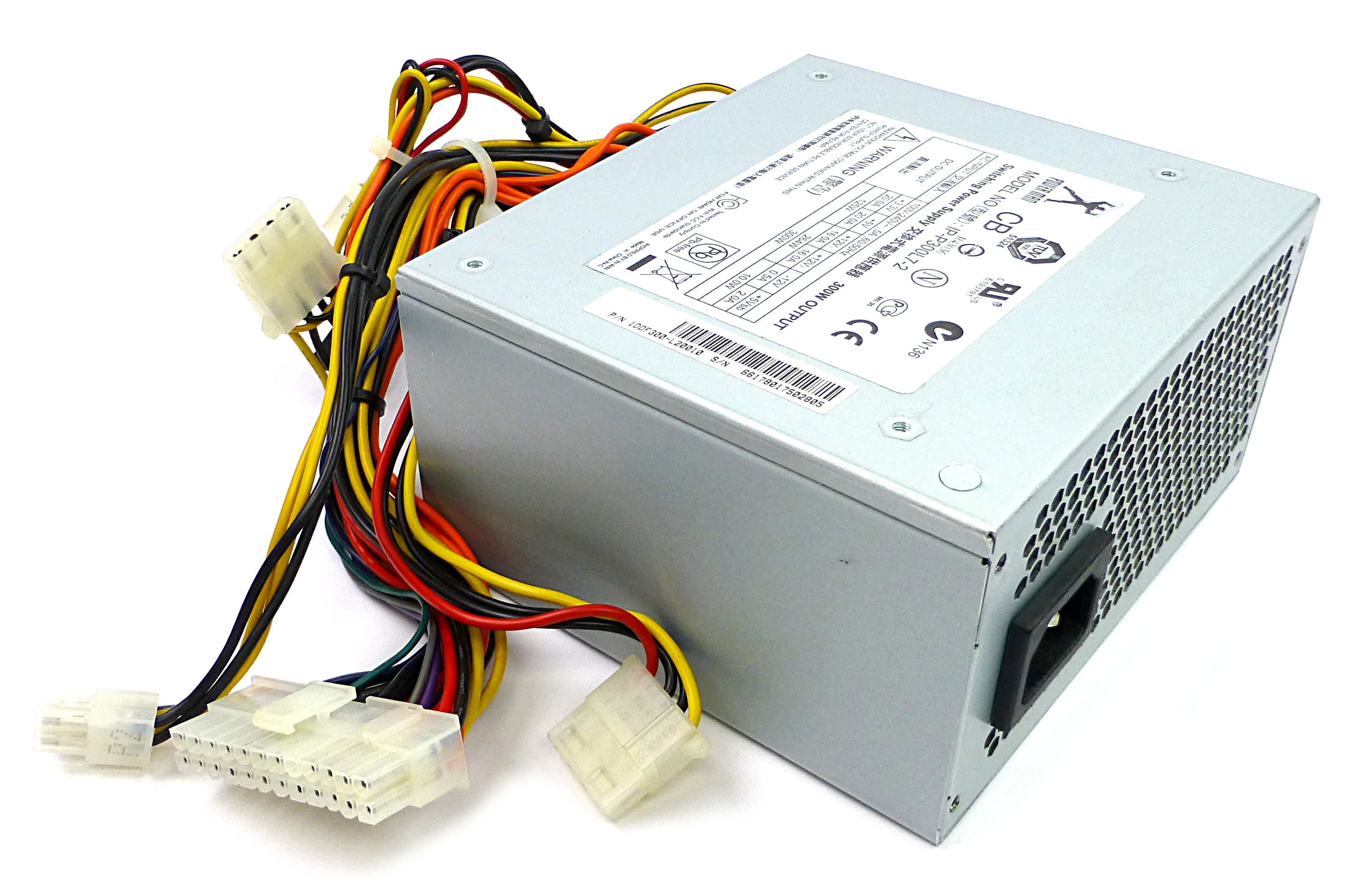 IP-P300L7-2 Power Man 10DF300-L20010 300W 20/24 Pin Power Supply