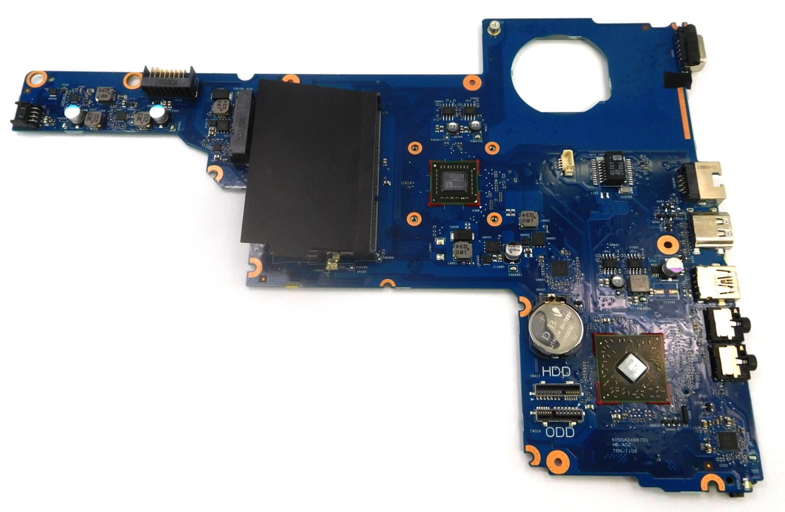 715890-501 HP Compaq CQ58 Laptop Motherboard /w AMD E1 APU