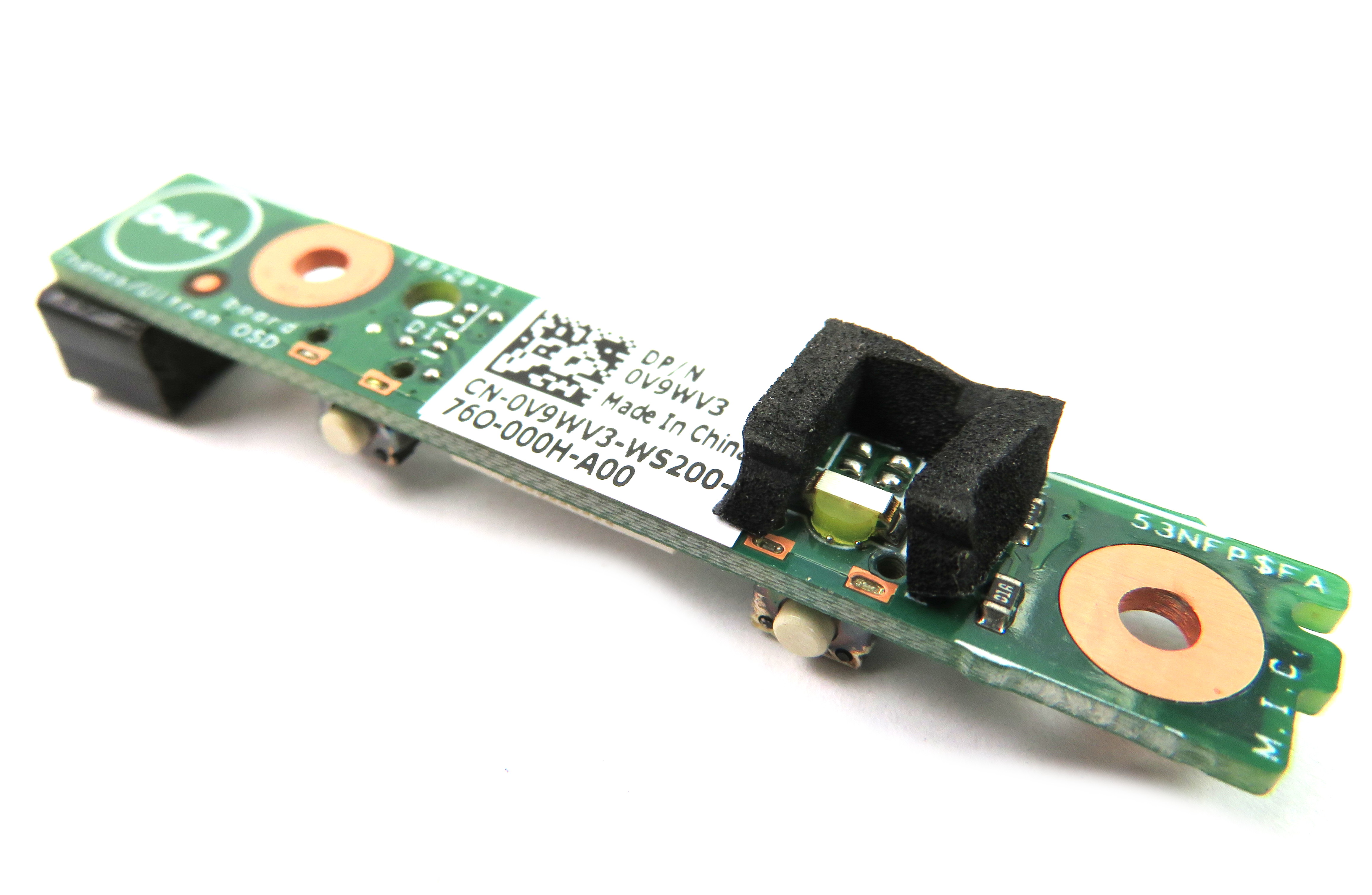 Dell 0V9WV3 Power-On Button PCB Board /f Inspiron 24 Model 5475 Series - V9WV3