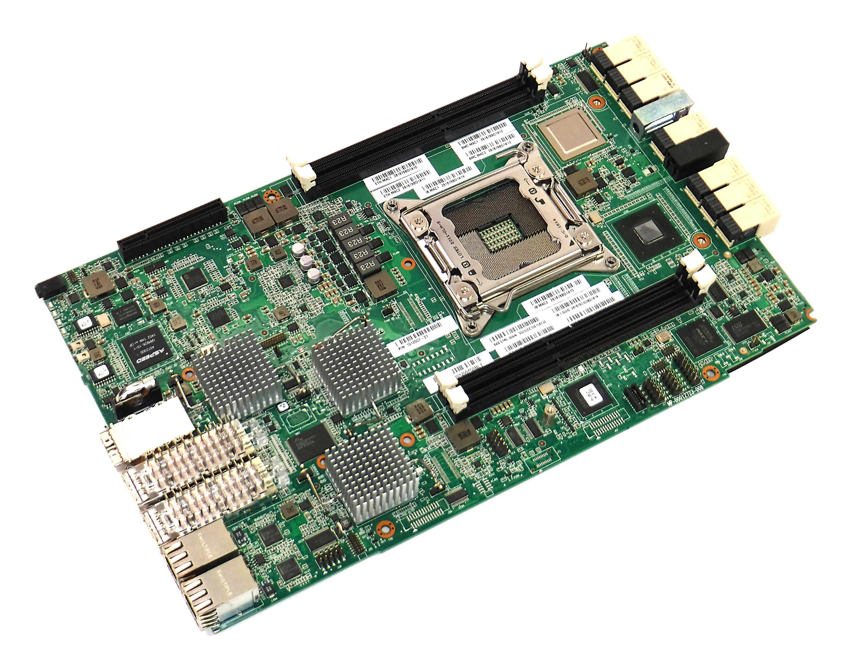 Microsoft 8100 SATIT2 Controller Board P/N: 1012007-01