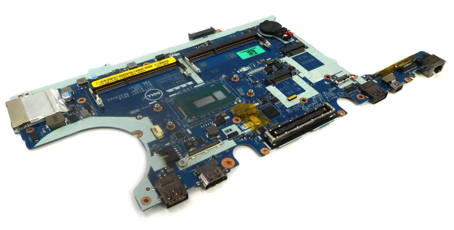 R1VJD Dell Latitude E7450 Laptop Motherboard w/ BGA Core i5-5300U CPU