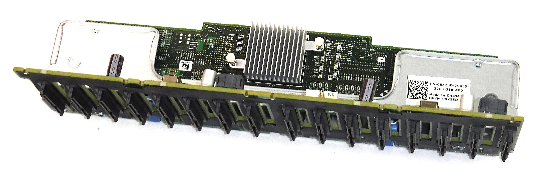 "Dell 8X25D PowerEdge R720 1x16 2.5"" SAS Backplane & Controller"