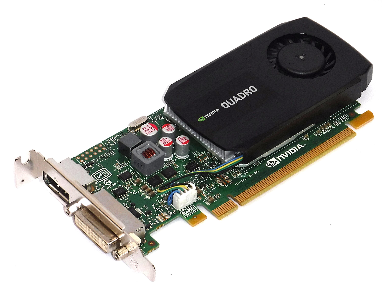 PNY VCQK600ATX-T nVIDIA Quadro K600 PCI-e 1GB DDR3 DVI-I & DP  - LP