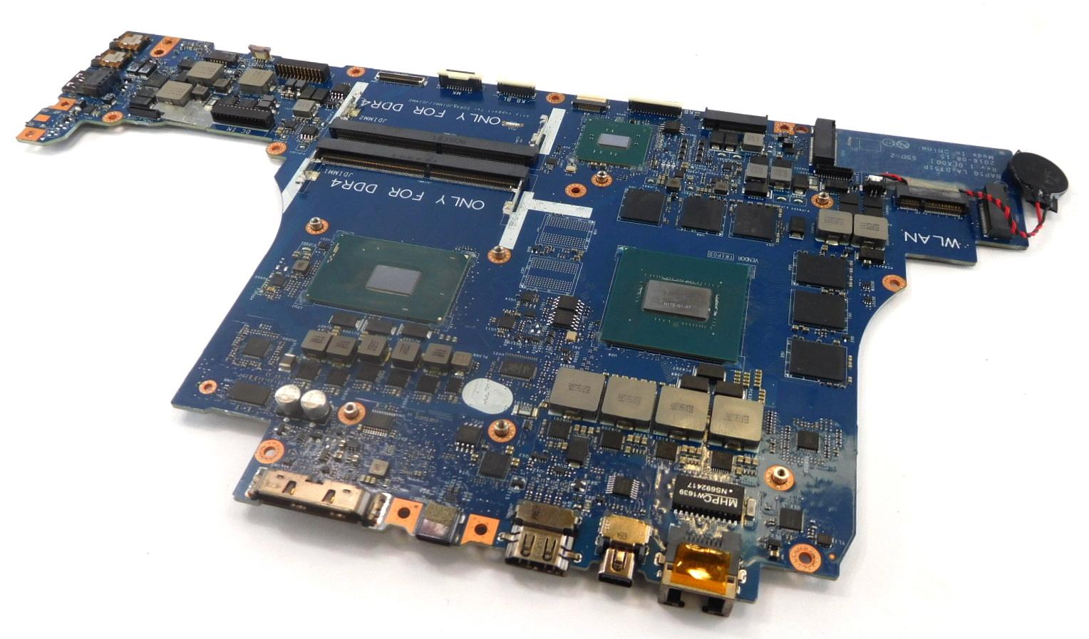 JHRTF Alienware 17 R4 Laptop Motherboard /w BGA Core i7-6700HQ CPU /  GTX1060 GPU