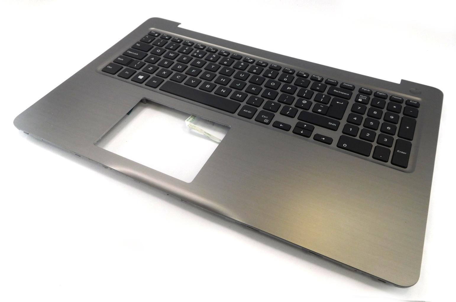 2YGKM 02YGKM Dell Inspiron 15 5567 Palmrest Assembly w/ UK Keyboard R0G9T