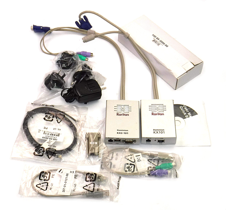 Raritan DKX101 Intelligent KVM Switch