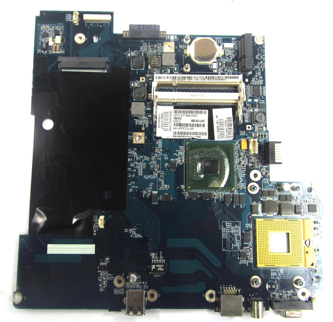 UNTESTED 441696-001 Compaq Presario C500 Laptop Motherboard - LA-3343P
