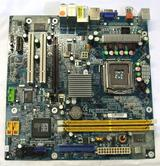 UNTESTED GA-8TRC410MNF-RH Gigabyte PC Motherboard Intel LGA775 PCIe