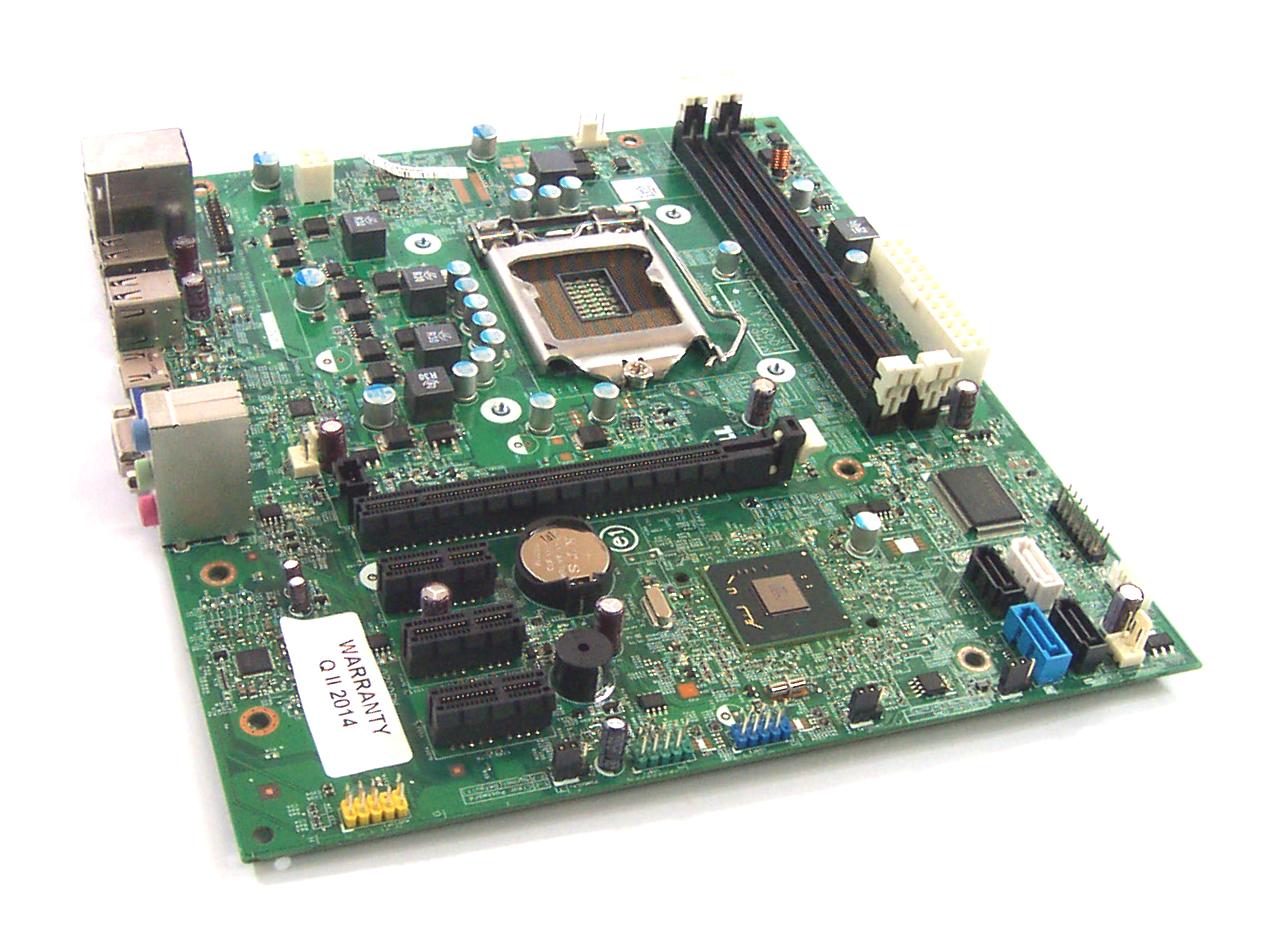 UNTESTED Dell GDG8Y Socket 1155 Motherboard - 48.3EQ01.011