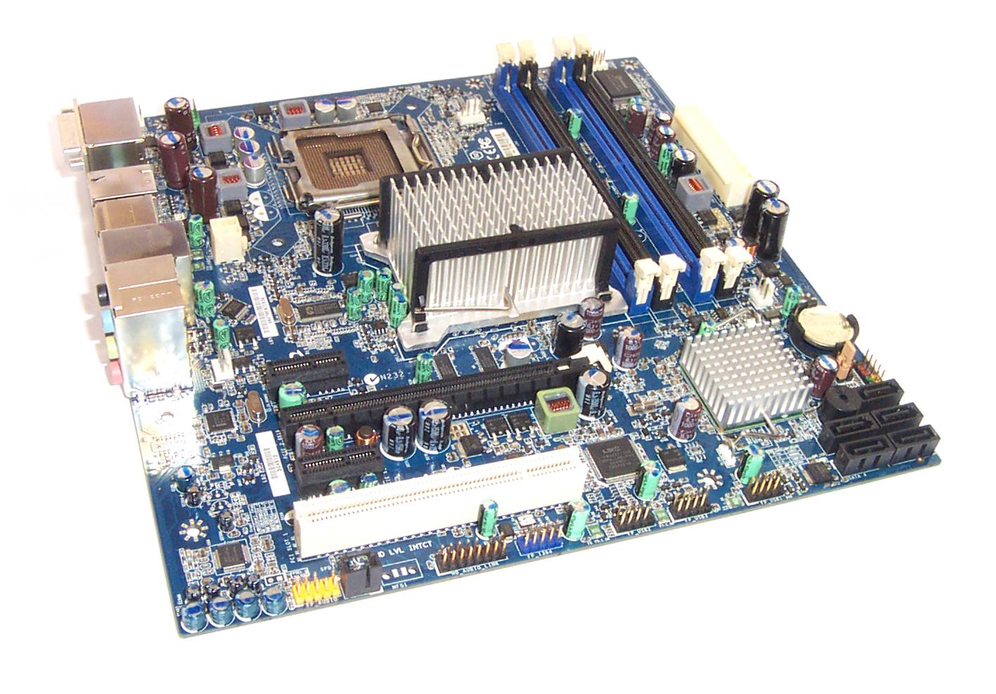 UNTESTED Intel E46743-302 Socket 775 Motherboard