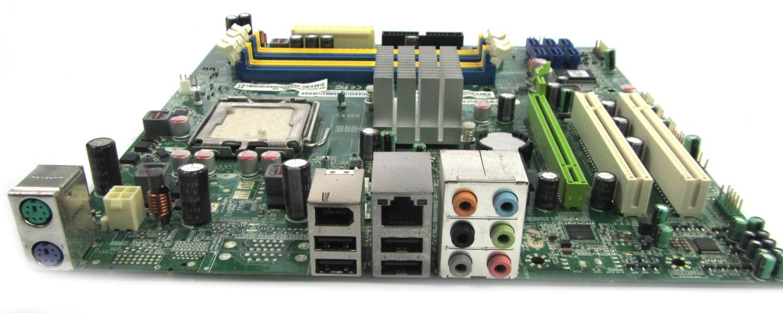 UNTESTED MB.U1209.002 Foxconn Intel Socket 775 MotherBoard - MCP7AM01P8-1.0-8EKS