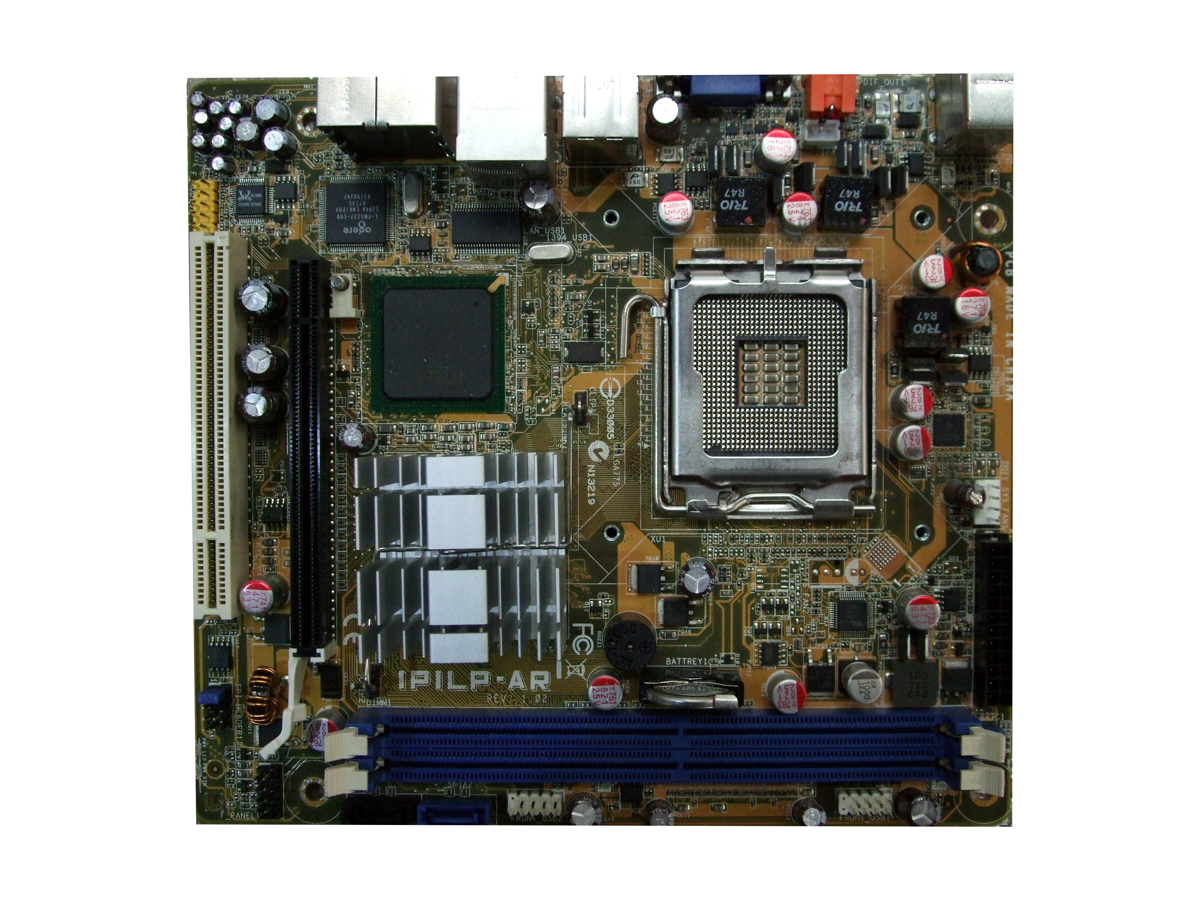 UNTESTED Foxconn ASUS IPILP-AR Micro ATX 775 Motherboard