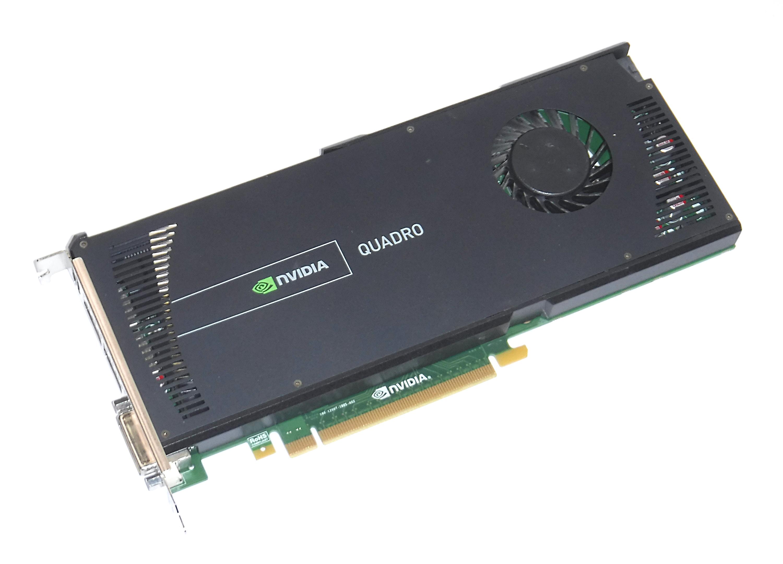 HP 671137-001 nVidia Quadro 4000 2GB PCI-E DVI-I/Dual Display Port Graphics Card