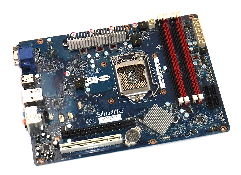 shuttle sh55j socket 1156 ddr3 form factor motherboard