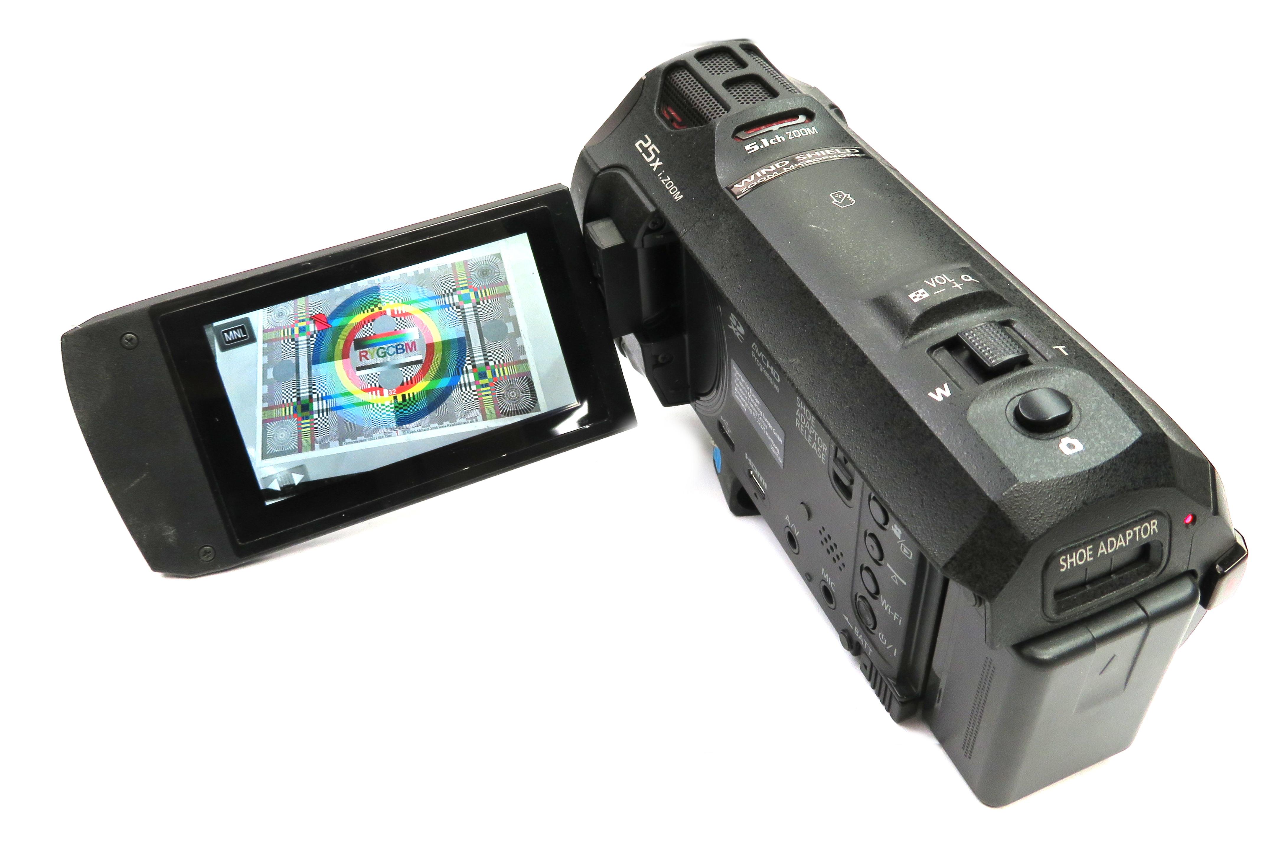 Panasonic HC-VX870 4K Video Camera HD Digital Camcorder S/N: DN6CB001567
